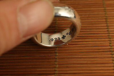 limited edition Contracted Sparkling 925 silver hand Engraved designs Ring gift