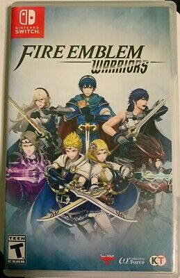 Fire Emblem Warriors (Nintendo Switch) Adult Owned, Barely Played, Fast Ship!