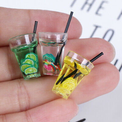 1:12 Scale cup drink for dollhouse miniature toy doll food kitchen accessory MC