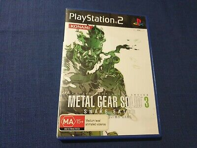 Metal Gear Solid 3 Snake Eater - Tested - Working - Complete
