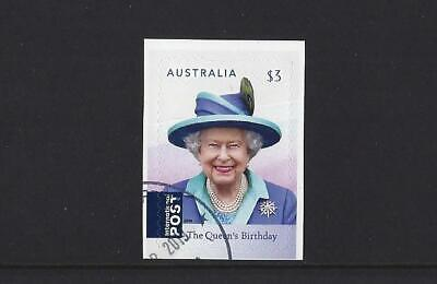 Australia  2019 The Queen's Birthday Self Adhesive High Value Fine Used