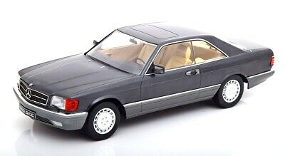 Mercedes Benz 560 Sec C126 Anthrazit 1980 KK SCALE 1:18 KKDC180331 Model