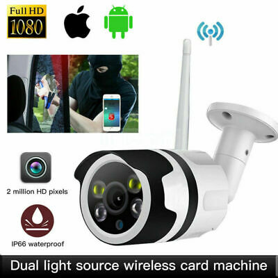 WIFI IP Camera 1080P HD Wireless Network Cam CCTV In/Outdoor IR Night Security