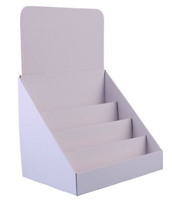 Stand Store 12 Inch 4 Tier Cardboard Greeting Card Display