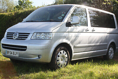vw caravelle silver 2004 54 Diesel 2.5L extensive & itemised service history VGC