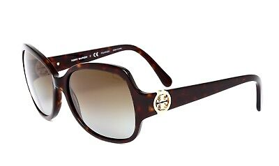 fa5c26e2d96d Tory Burch TY7059 1378/T5 Women's Brown Polarized Sunglasses 57 16 135 0137