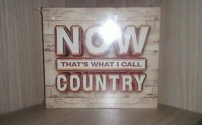 Now That's What I Call Country CD Boxset NEW - Sealed