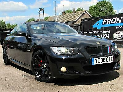 2008 Bmw 3 Series 330I M Sport Automatic Cabriolet Convertible Petrol