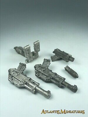 Metal Imperial Guard Miscellaneous Parts - Warhammer 40K X658