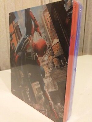 "Ps4 Marvel ""Spider-Man"" Steelbook(Juego+Steelbook)"