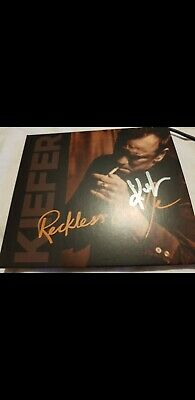 Kiefer Sutherland - Reckless & Me CD ** SIGNED / AUTOGRAPHED ** 24 and Lost Boys