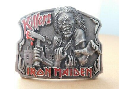 Iron Maiden, Killers, Rare Vintage Belt Buckle, 1981, Ils Collection, England