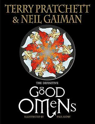 The Illustrated Good Omens by Gaiman, Neil Book The Cheap Fast Free Post
