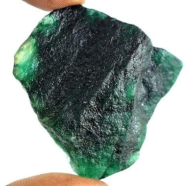 Colombian Green Emerald Natural 281.95 Ct Gemstone Rough AGI Certified F4886
