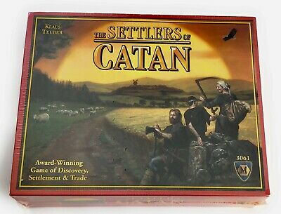 Settlers of Catan Board Game Klaus Teuber Mayfair 2007 DIscovery Trade 3061 NEW
