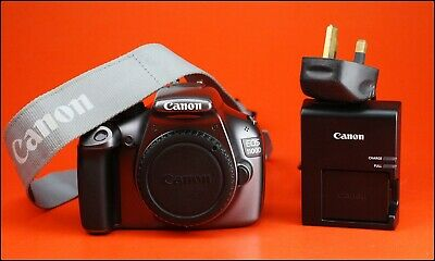 Canon EOS 1100D DSLR Camera Sold With Battery, Charger, 1,390 Shots