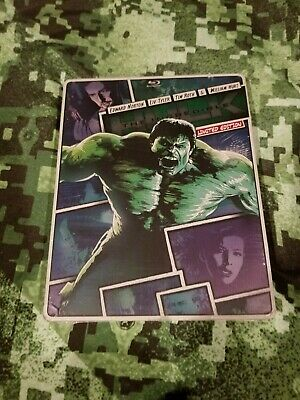 The Incredible Hulk 2008 Blu-ray / DVD Limited Edition Steelbook NEW Sealed