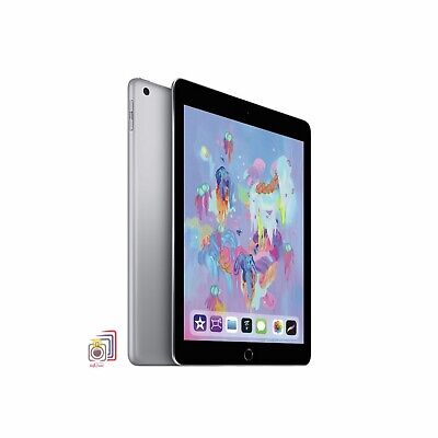 Apple iPad 6th Generation, Space Grey 32GB (MR7F2B/A) Wi-Fi Only - New & Sealed