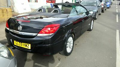 2009 Vauxhall astra H 1.8 automatic twintop convertible