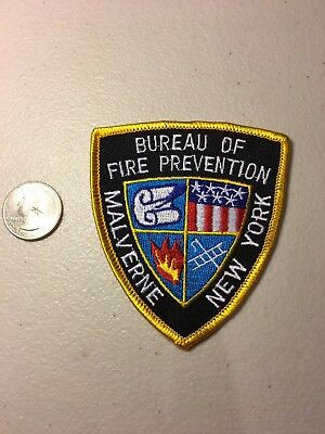 Malverne New York Fire Department Firefighter Paramedic Patch NY