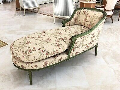 Antique French Louis XVI Style Chaise Lounge