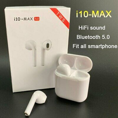 i10 MAX TWS Bluetooth Earphones Wireless Earbuds Headset With Charging Box