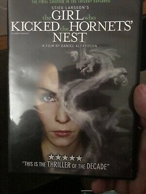 The Girl Who kicked The Hornets Nest ( DVD, 2010 )