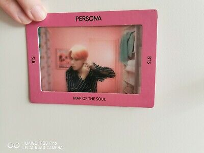 BTS MAP OF THE SOUL: PERSONA TRANSPARENT PHOTO PICKET + FRAME: JIMIN (1 card)