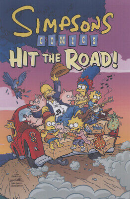 Simpsons Comics hit the road! by Matt Groening|Karen Bates|Ian Boothby