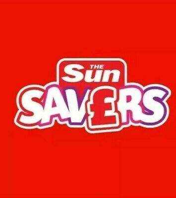 Sun Savers Booking form and all 10 tokens for 2 Thorpe Park tickets
