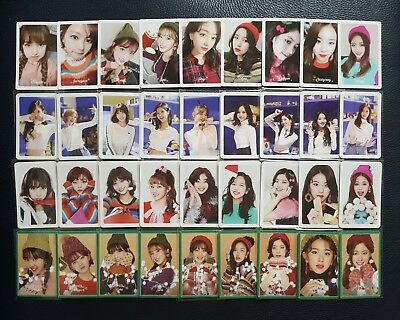 TWICE Merry&Happy Heart shaker photocard set (full set/pre-order set)