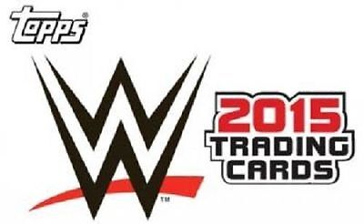 2015 Topps Wwe Wrestling 10-Card Nxt Prospects Insert Set