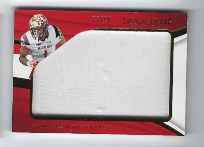 D.j. Moore 2018 Panini Immaculate Player Worn Jersey Relic /99