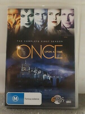 Once Upon A Time Tv Series Dvd Brand New Seasons 1,3,4,5,6 Region 4 Aus