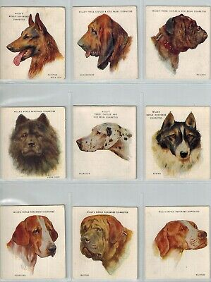 WD & HO Wills Cigarette Cards - A Series of 20 Dogs (1927) - Full Set