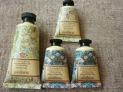 Morris & Co Hand Cream - 3 x 15ml & 1 x 30ml - Shea, Strawberry & Golden Lily