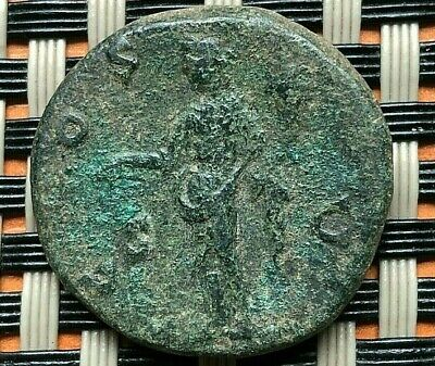 Antoninus Pius 138-161 Ad Ae As Rome Mint Ancient Roman Coin