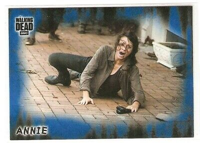 Annie 2018 Topps The Walking Dead Hunters & Hunted Blue #/50