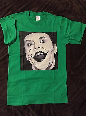 Men/'s T-shirt JACK NICHOLSON SHINING early ha l/'gold in mouth no happinness
