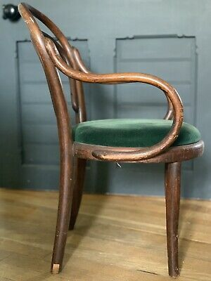 Antique 19th Century Childs Arm Chair Bentwood Stick Back