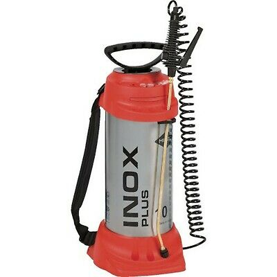 Mesto high-pressure sprayer Inox Plus 10 L, FPM, silver.