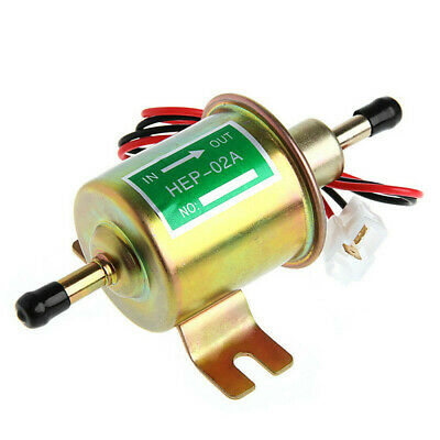 12V Electric Universal Petrol Diesel Fuel Pump Cylinder Style Tractor Boat