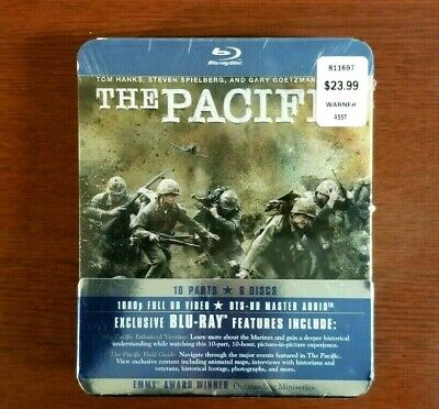 NEW! The Pacific - The Complete HBO Series [Blu-ray Tom Hanks Steven Spielberg]