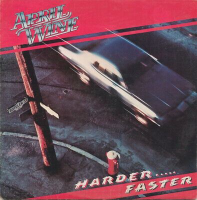 Harder.....Faster by April Wine (LP, 1979 Aquarius, Canada, AQR527)