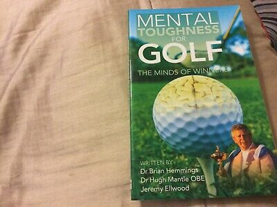 Mental toughness Paper back Book for golf, used