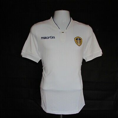 2014-2015 Leeds United Home Football Shirt, Macron, Body Fit, Large (BNWT)