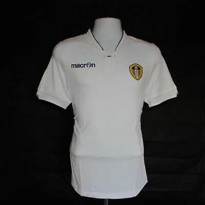 2014-2015 Leeds United Home Football Shirt, Macron, Body Fit, XL (BNWT)