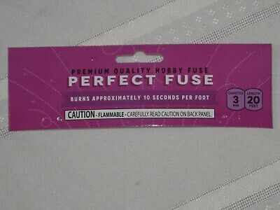 (1) Cannon Fuse Labels Perfect Hobby Fuse 3mm Label +