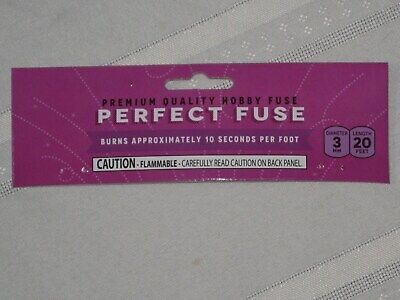(5) Cannon Fuse Labels Perfect Hobby Fuse 3mm Label +