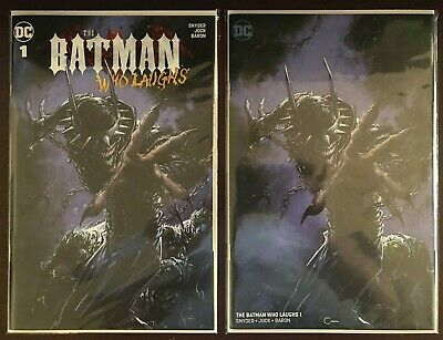Batman Who Laughs #1 NM/MT Clayton Crain Scorpion Trade Dress and Virgin Variant